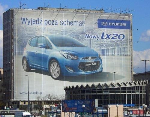 Reklama na budynkach mieszkalnych